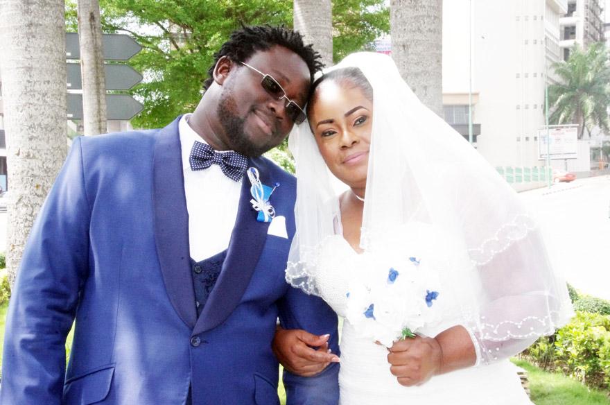 Mariage du couple PETEY