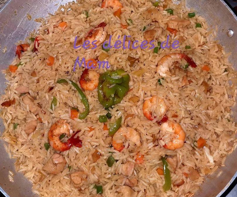 CUISINE: Le riz paella à l'espagnol fait maison.