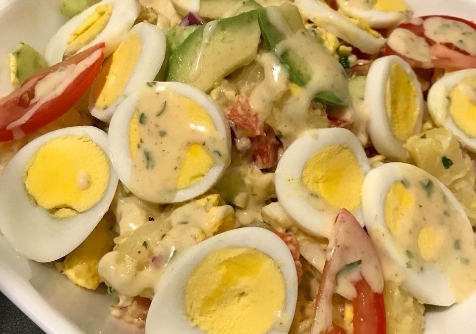 Recette : Salade de pommes de terre aux œufs