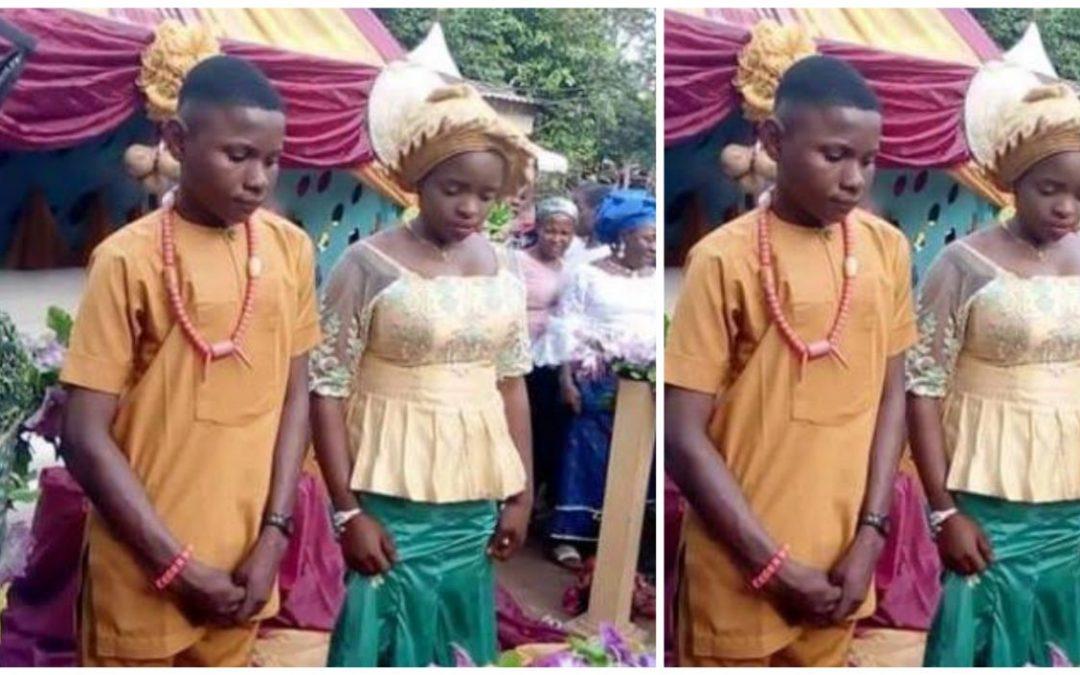 Nigeria : Un jeune de 17 ans épouse une fille de 16 ans