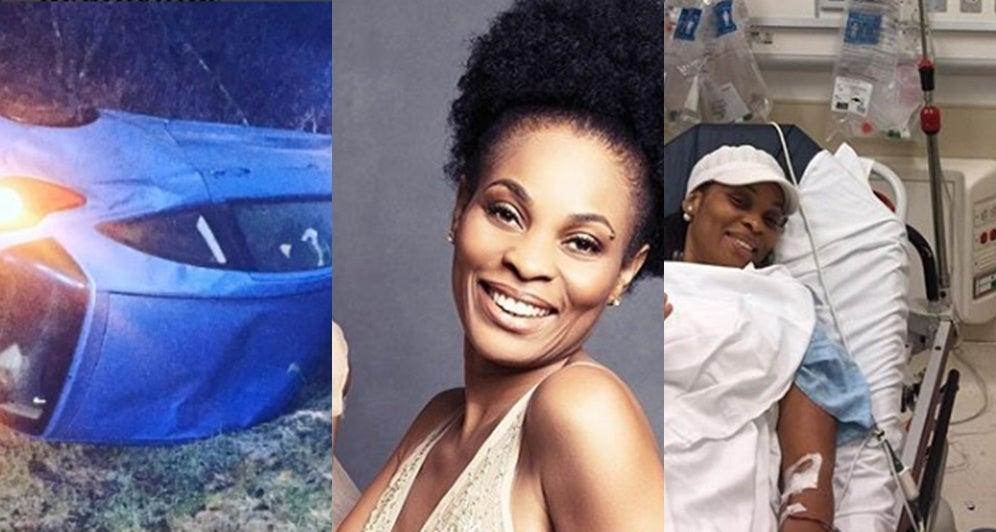 L'actrice de Nollywood, Georgina Onuoha, raconte comment elle a survécu à un accident mortel il y a 2 ans