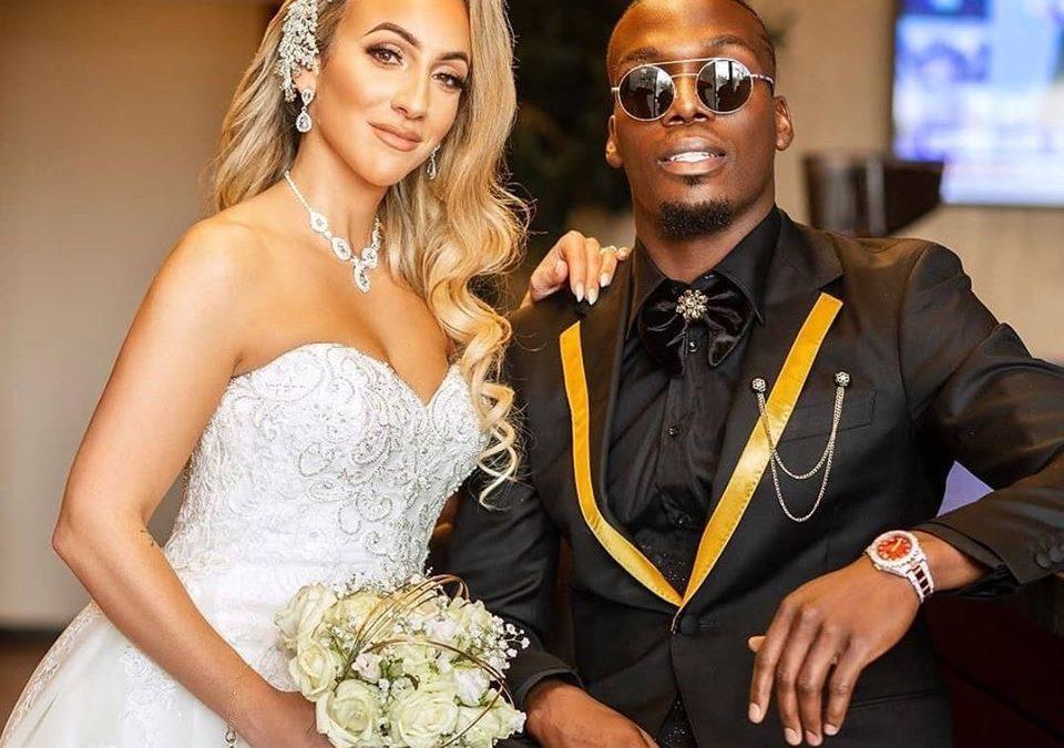 Les photos du mariage de Florentin Pogba et sa femme Sarah
