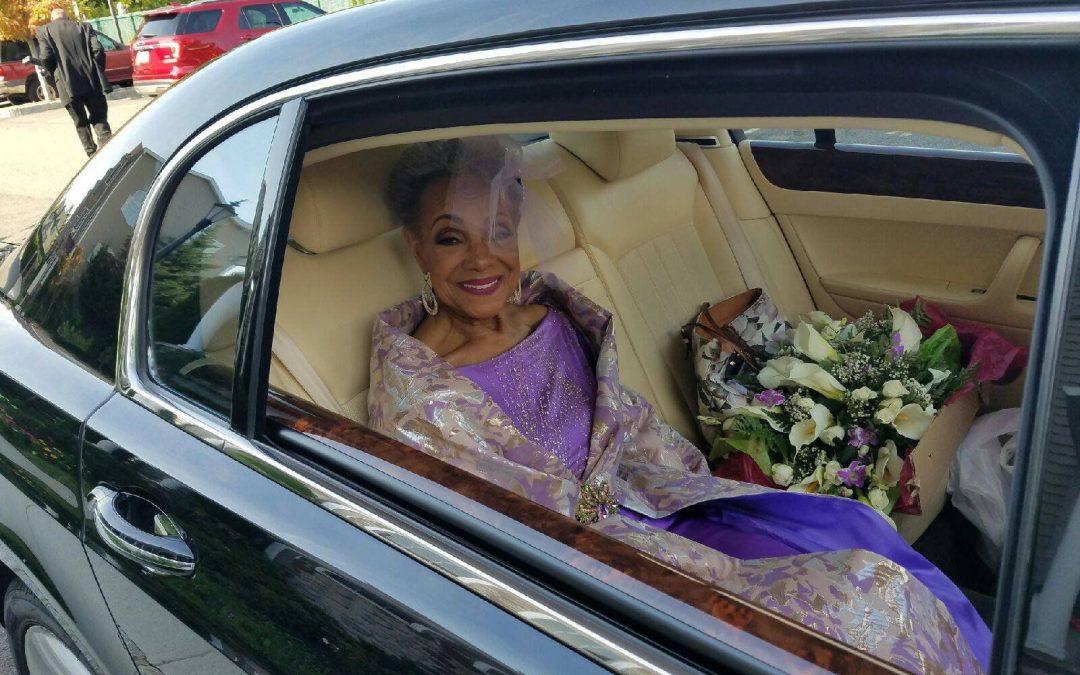 Une grand-mère de 86 ans s'est mariée