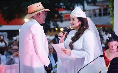 Le mariage de la méga-star du reggae ivoirien Koné Seydou dit Alpha Blondy avec Aelyssa Darragi d'origine Tuniso-Italienne.