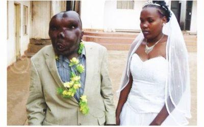 Ouganda: « L'homme le plus laid » convole en juste noce avec une troisième femme